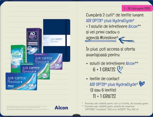 Promoție AIR OPTIX Plus HydraGlyde