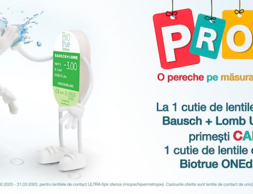 Promoție Lentile de Contact Bausch+Lomb