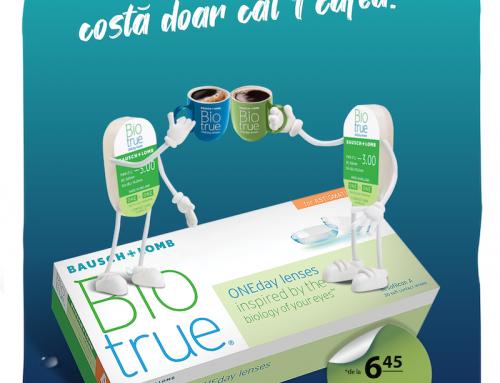 Promoție Lentile de Contact Biotrue ONEday 30+10