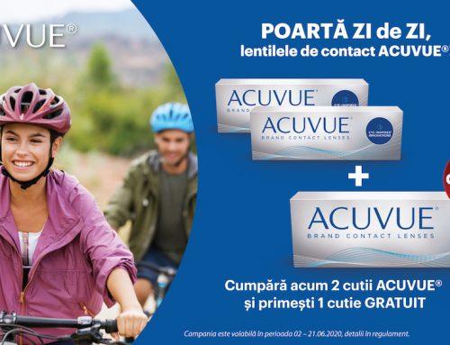 Promoție Lentile de Contact ACUVUE 2+1