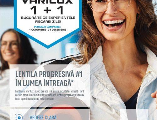 Ofertă Lentile Progresive Varilux 1+1