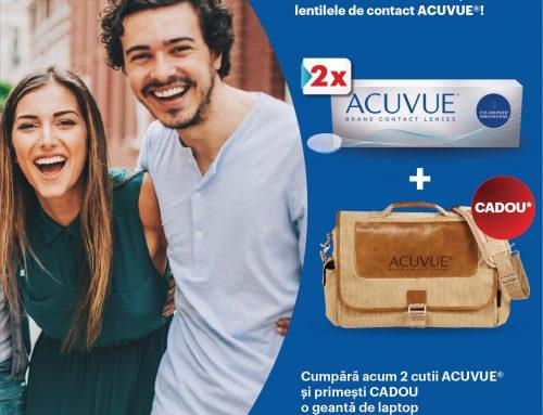 Promoție Lentilele de contact ACUVUE