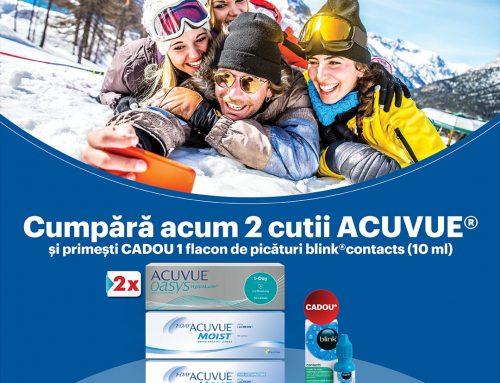 Promoții Lentile de Contact Acuvue