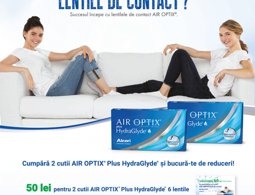 Promoție Lentile Contact Air Optix