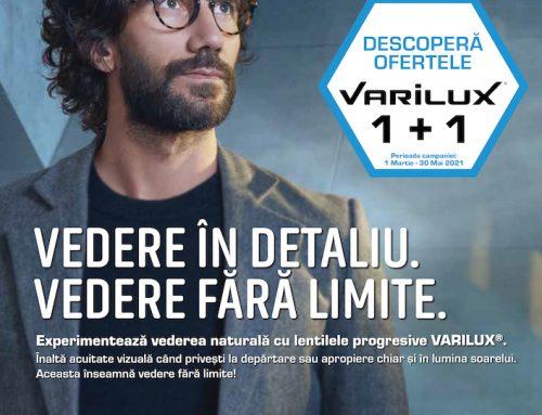 Promoție Lentile Progresive Varilux 1+1