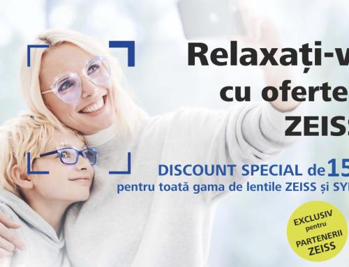 Promotie lentile de ochelari – ZEISS