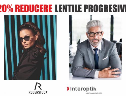20% Reducere la lentile de ochelari progresive – Interoptik
